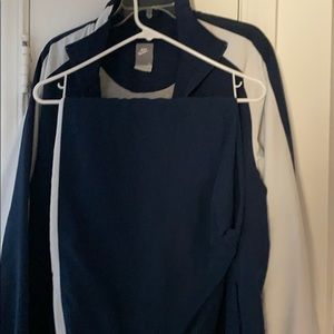 Nike warm up suit